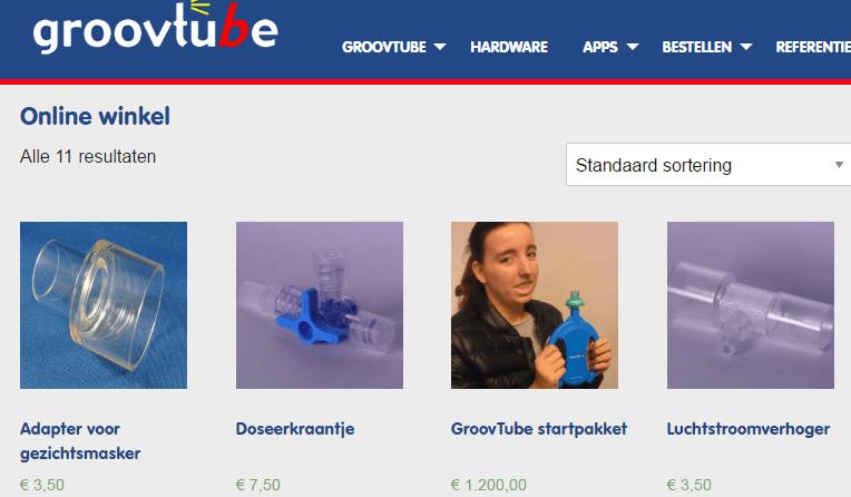 PEP-маска и приложение GroovTube для детей